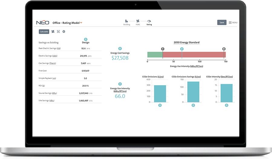 NEO Software Interface