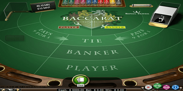 Baccarat Pro Netent Slot