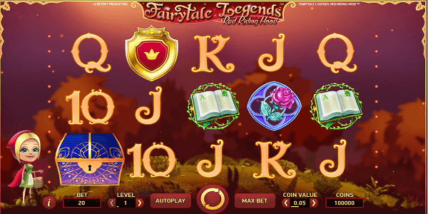 Fairytale Legends: Red Riding Hood Netent Slot