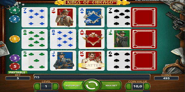 King Of Chicago Netent Slot