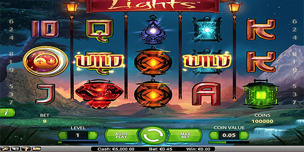 Lights Netent Slot