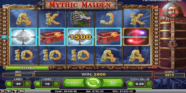 Mythic Maiden Netent Slot