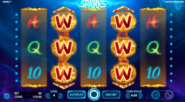Sparks Netent Slot