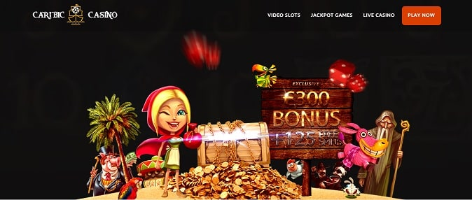 Caribic Casino exclusive offer