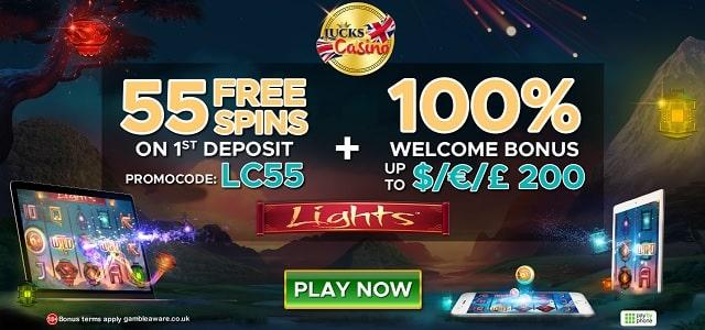 Lucks Casino promotion