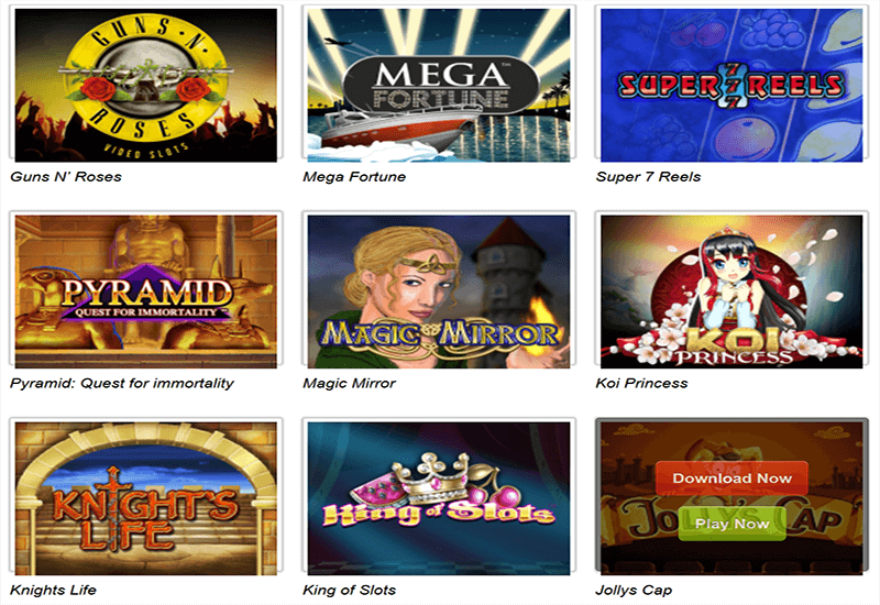 Play Milion Casino Video Slots