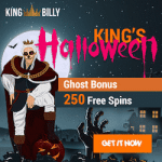 Trick, Treat & Ghost Bonuses from King Billy