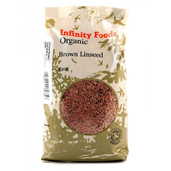 Organic Brown Linseed Infinity Foods