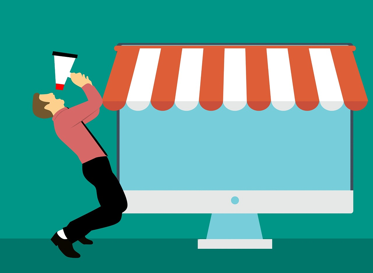 Business Man Advertisement Design Online Marketing