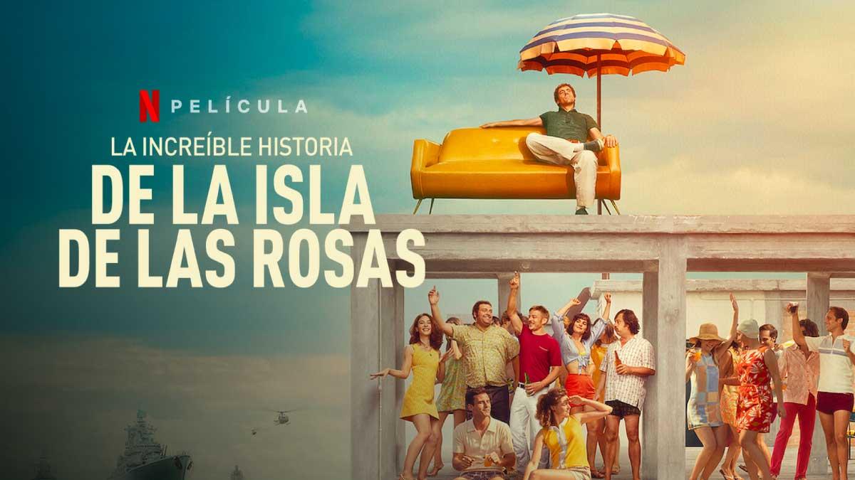 La Increíble Historia de la Isla de las Rosas Trailer #1 (2020) • Netfliteando