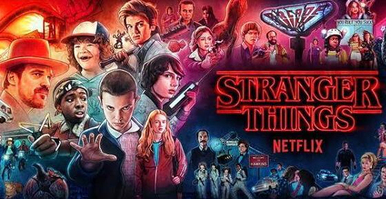 Stranger things netflix thriller series