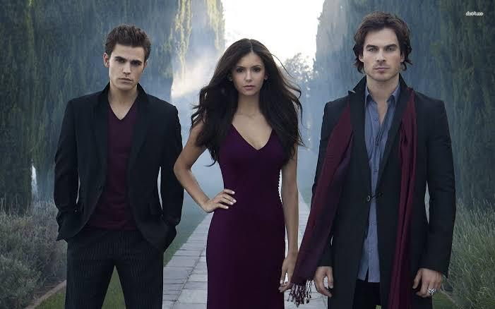 Best series on Netflix to watch with your girlfriend is the Vampire Diaries