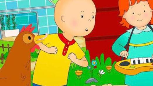 Caillou show for toddlers on amazon prime
