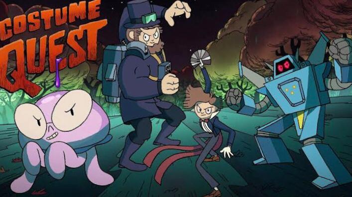 Best amazon original animated series is Costume Quest