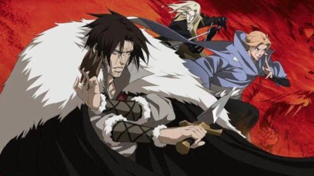 Best english dubbed anime on Netflix Castlevania