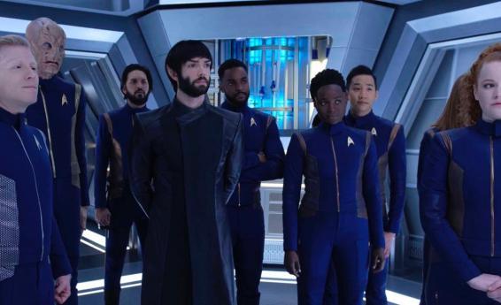 Netflix Original Sci-fi series star trek Discovery