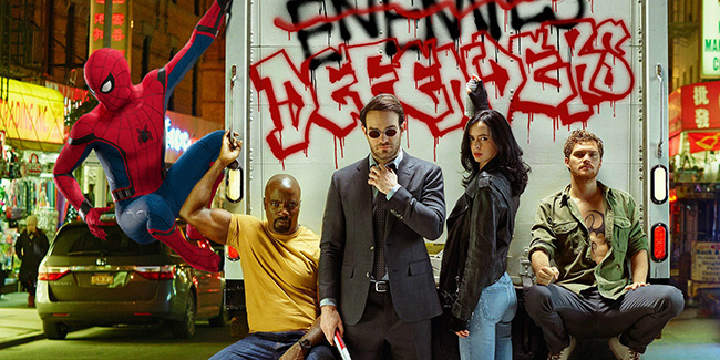 The Defenders: ¿en Facebook revelado un enlace con Spider-Man?