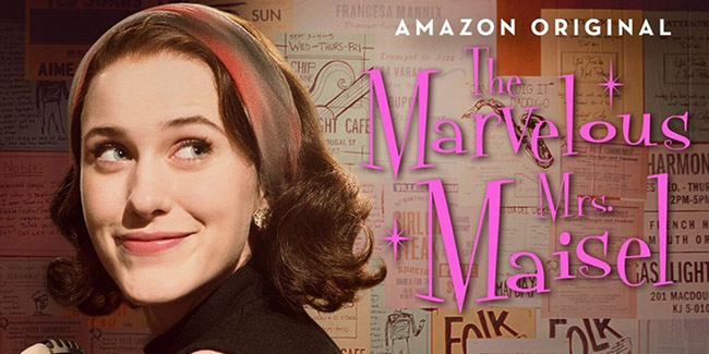 The Marvelous Mrs. Maisel, en noviembre por Amazon
