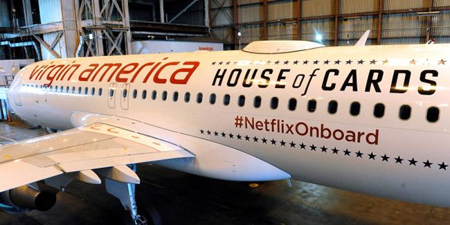 Netflix a la conquista de los cielos, en el 2018 estará en varias líneas aéreas