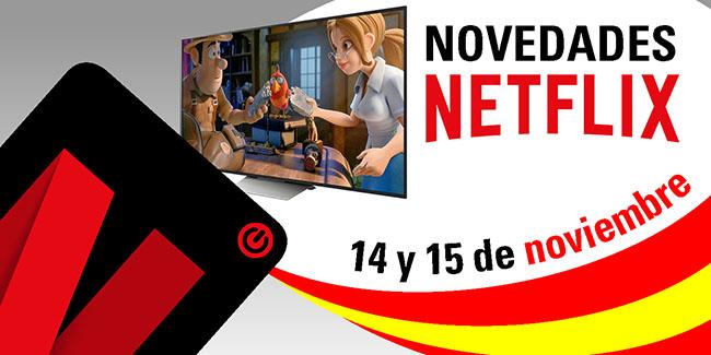 Novedades Netflix España: 14 y 15 de noviembre de 2017