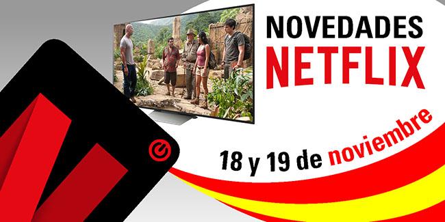 Novedades Netflix España: 18 y 19 de noviembre de 2017