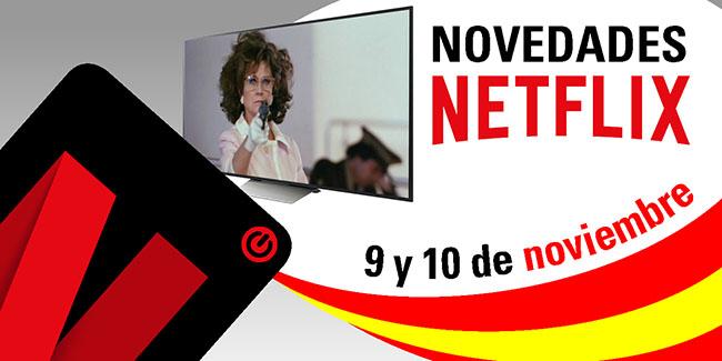Novedades Netflix España: 9 y 10 de noviembre de 2017