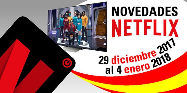 Novedades Netflix España: del 29 de diciembre de 2017 al 4 de enero de 2018