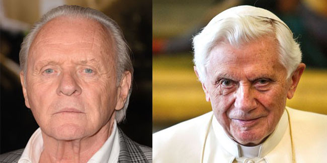 Anthony Hopkins interpretará a Benedicto XVI