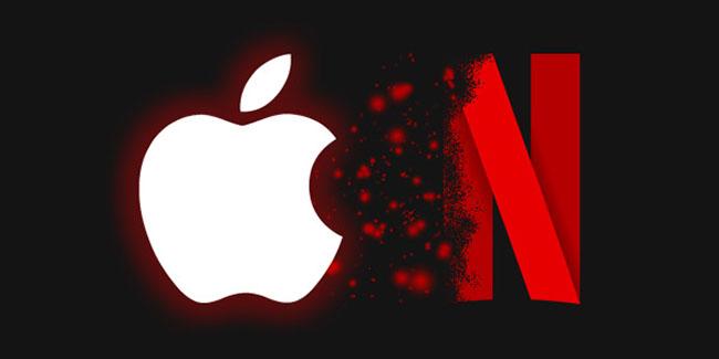Apple tendría la intención de comprar Netflix
