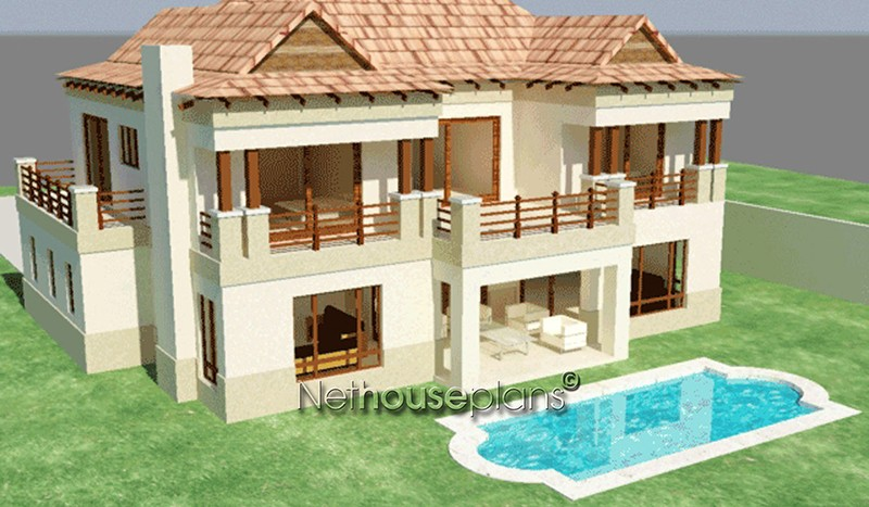 3 Bedroom House Plan Home Designs By Net House Plans South