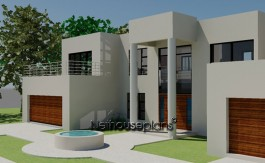 4 bedroom house plans by Nethouseplans
