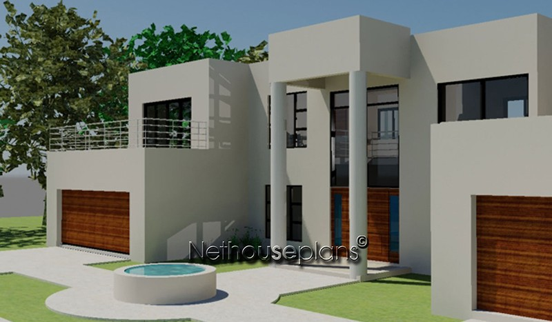 House plans 4 bedroom house plans by Nethouseplans double story 3 bedroom house plans double storey 4 Bedroom house plans modern house plans blueprint ranch house plans