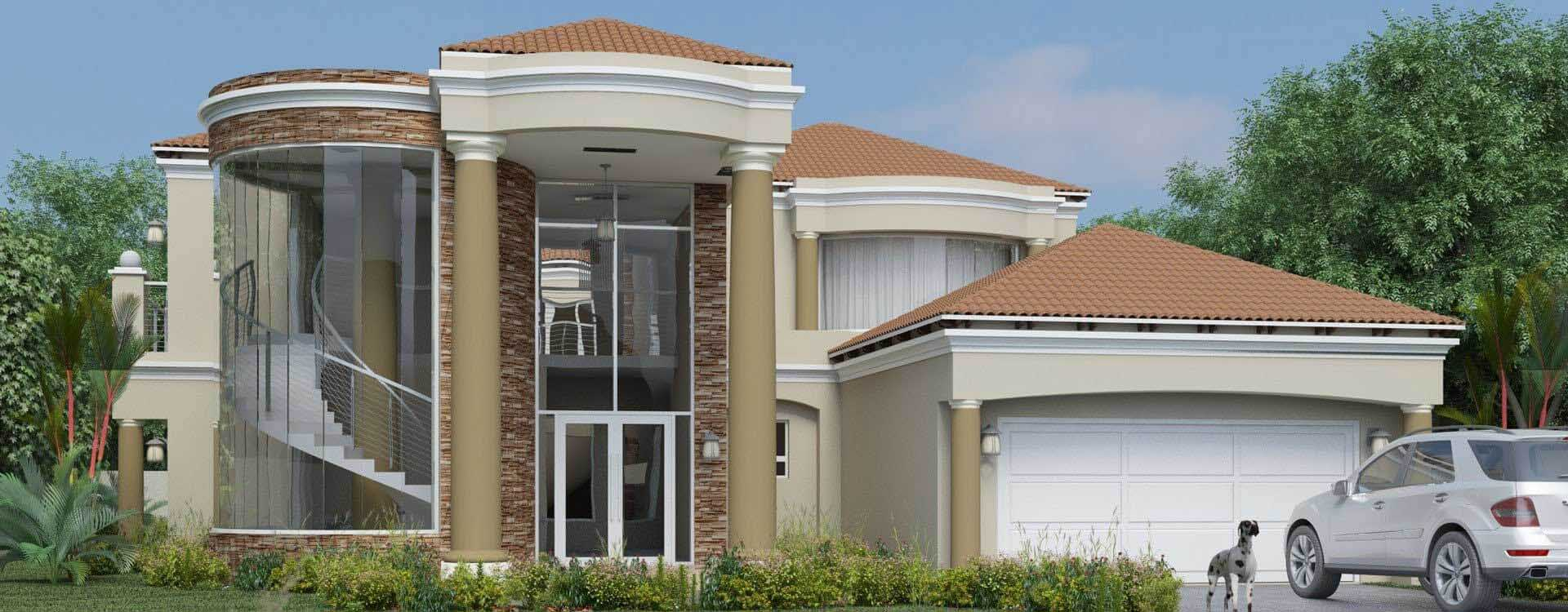 4 Bedroom House Plan  South African House Designs