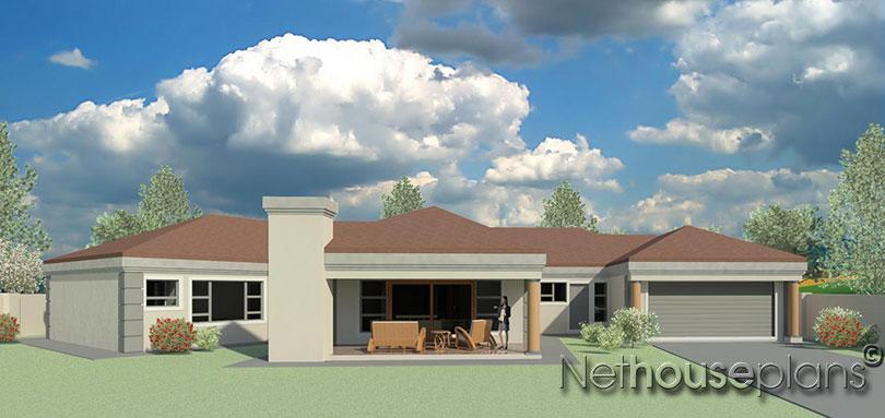 5 Bedroom House Plan T351 | Single Storey House ...
