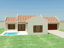 Small House Plan 3 Bedroom Plans - Tr158