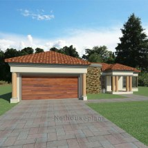 3 Bedroom House Plan South African Design
