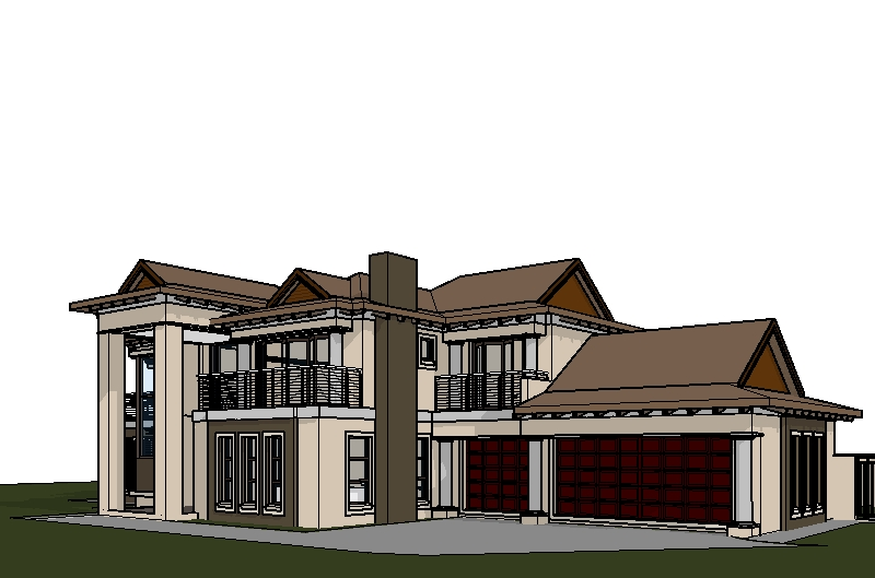 4 Bedroom House Plan, 4 Bedroom Online House Plans South Africa