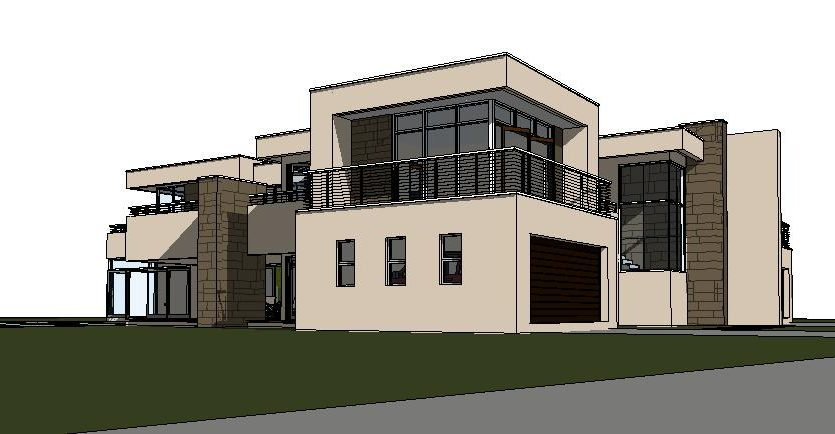 Beautiful House plan C643D by Nethouseplans, Fourways in South Africa