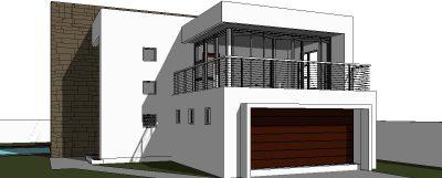 Modern 2 Storey House Design 3 Bedroom House Plan NethouseplansNethouseplans