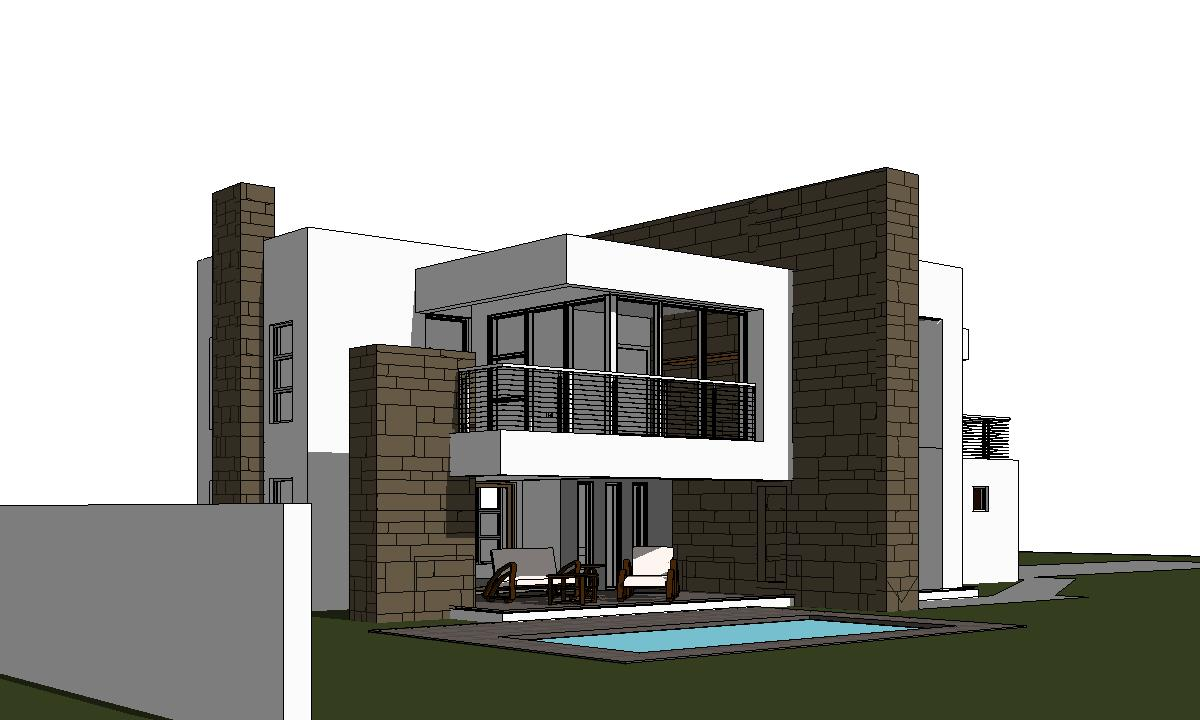Modern 2 Storey House Design 3 Bedroom House Plan