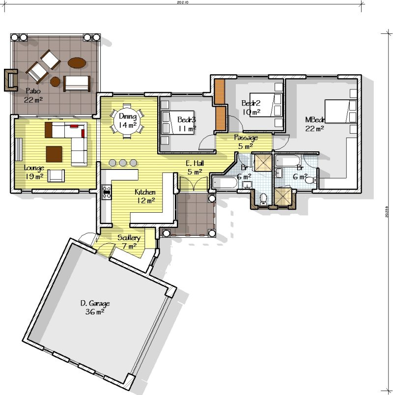 3 Bedroom House Plans Vs 4 Bedroom House Plans