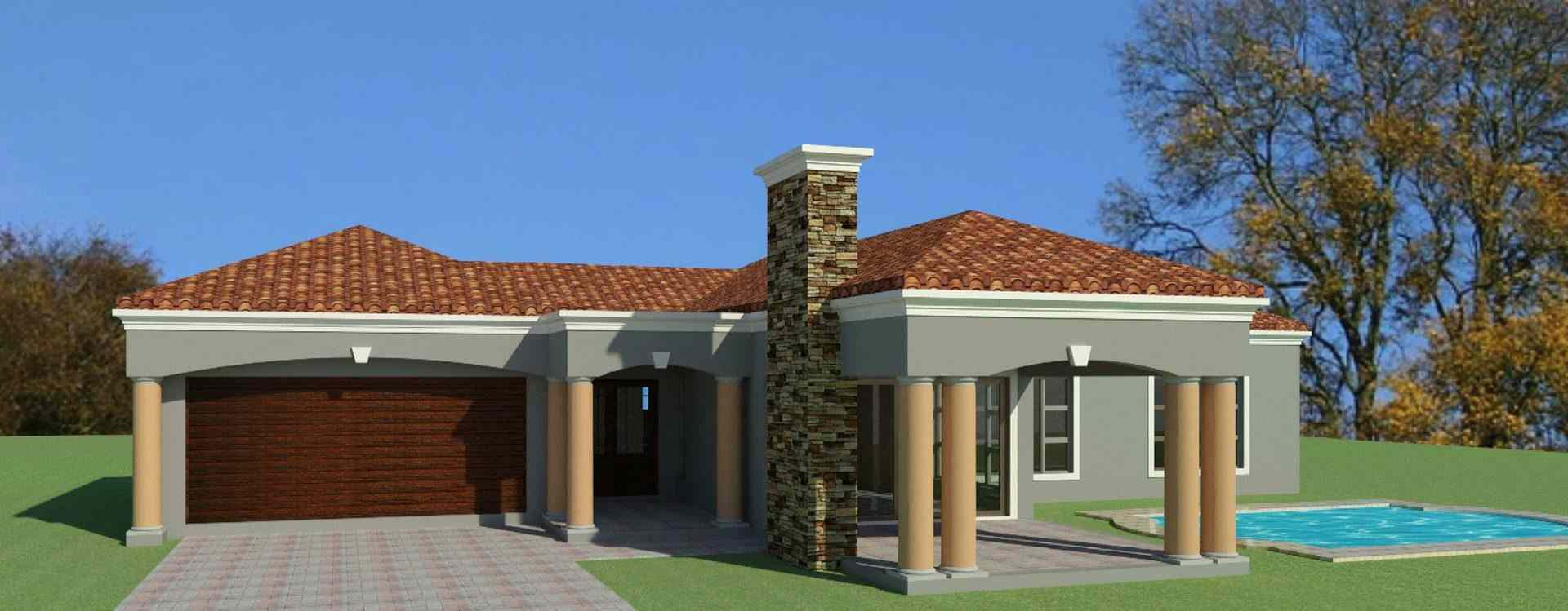 3 Bedroom House Plan For Sale  South African Designs  NethouseplansNethouseplans