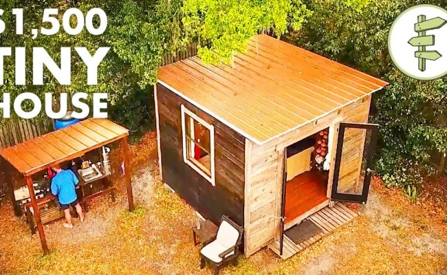 Man Living In A 10 X10 Tiny House In The City Nethugs