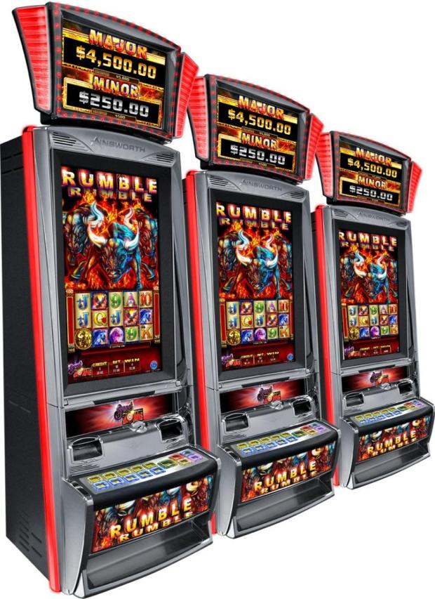 Ainsworth Rumble Rumble Progressive Slot Machine