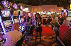 No free alcohol on the Casino Floor -Plainridge Park Slot Parlor