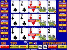 Quick Quad Video Poker