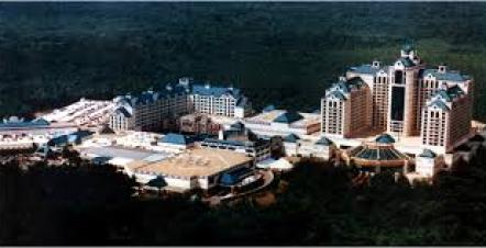 Foxwoods Hotels. Missing in picture is Two Trees Inn.
