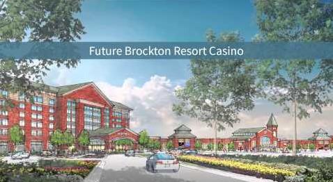 Brockton Casino Driveway