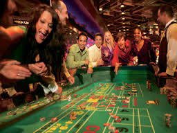 Shooting at the Craps Table