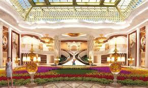 Rendering of an inside Garden, reminiscent of Bellagio in Las Vegas.